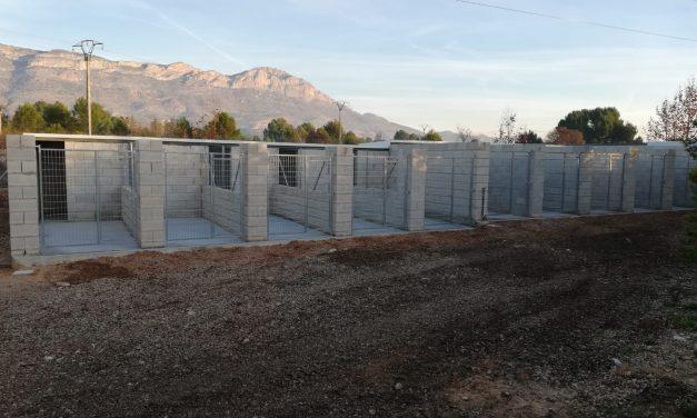Finalitzen les obres de construcció del refugi d'animals