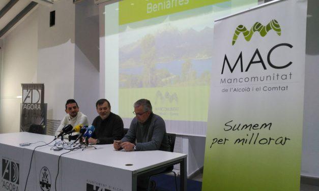 Beniarrés aprova en plenari la seua adhesió a la Mancomunitat