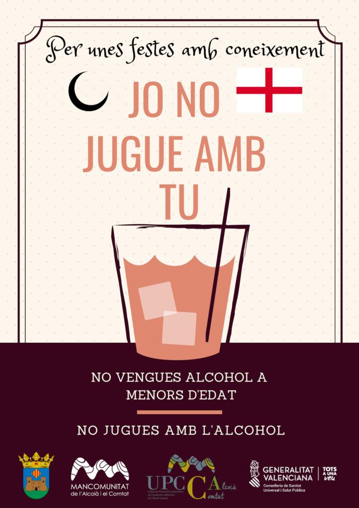 UPCCA Alcoià Comtat Prevenció consum alcohol