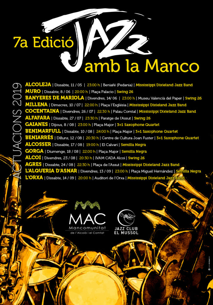 jazz amb la manco 2019