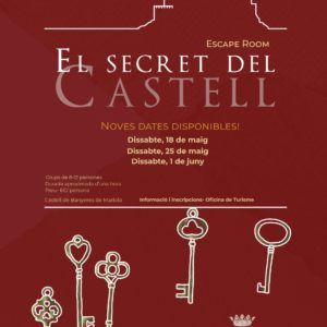 Escape room castell banyeres