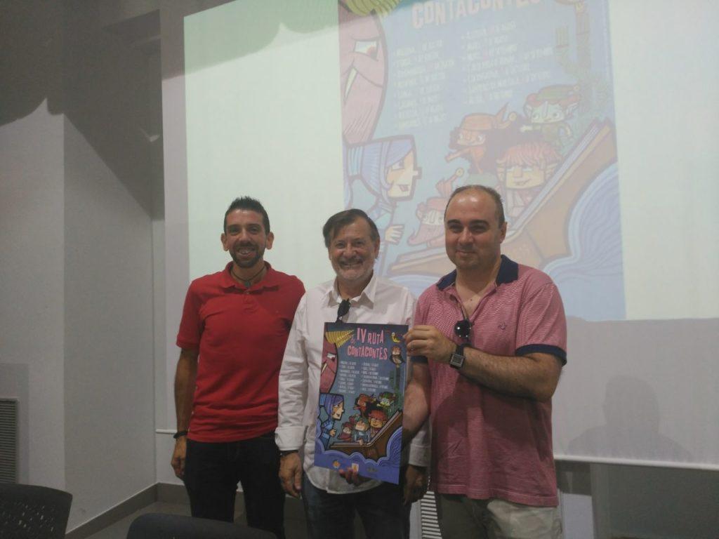 Arnaldo Dueñas, Manuel Gomicia, Francesc Gisbert - Ruta Contacontes 2019