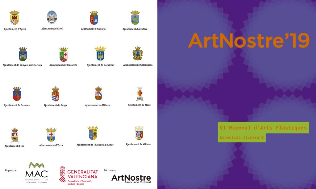 artnostre biennal d'arts plàstiques mancomunitat alcoià comtat