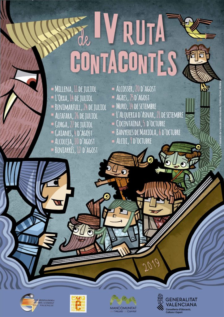 RUTA DE CONTACONTES 2019 ALCOIÀ COMTAT