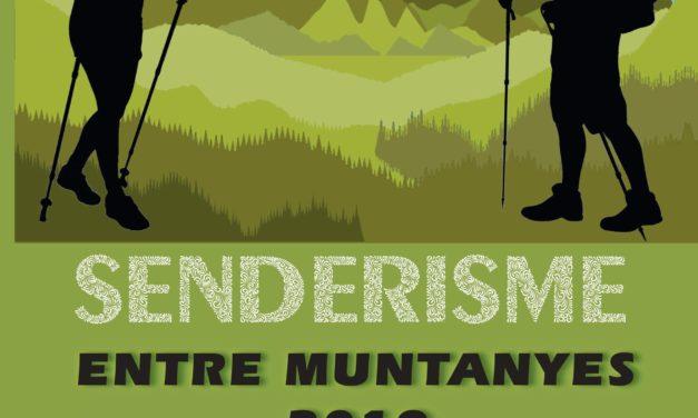 Programació de 'Senderisme entre Muntanyes' 2019