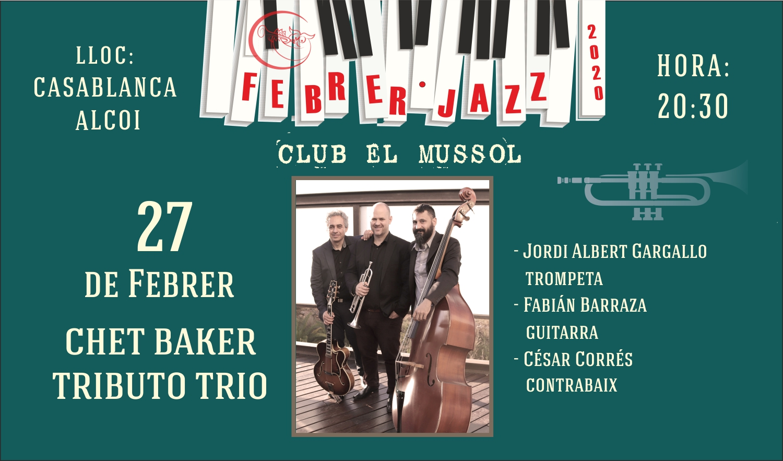 Concierto Chet Baker Tributo Trio