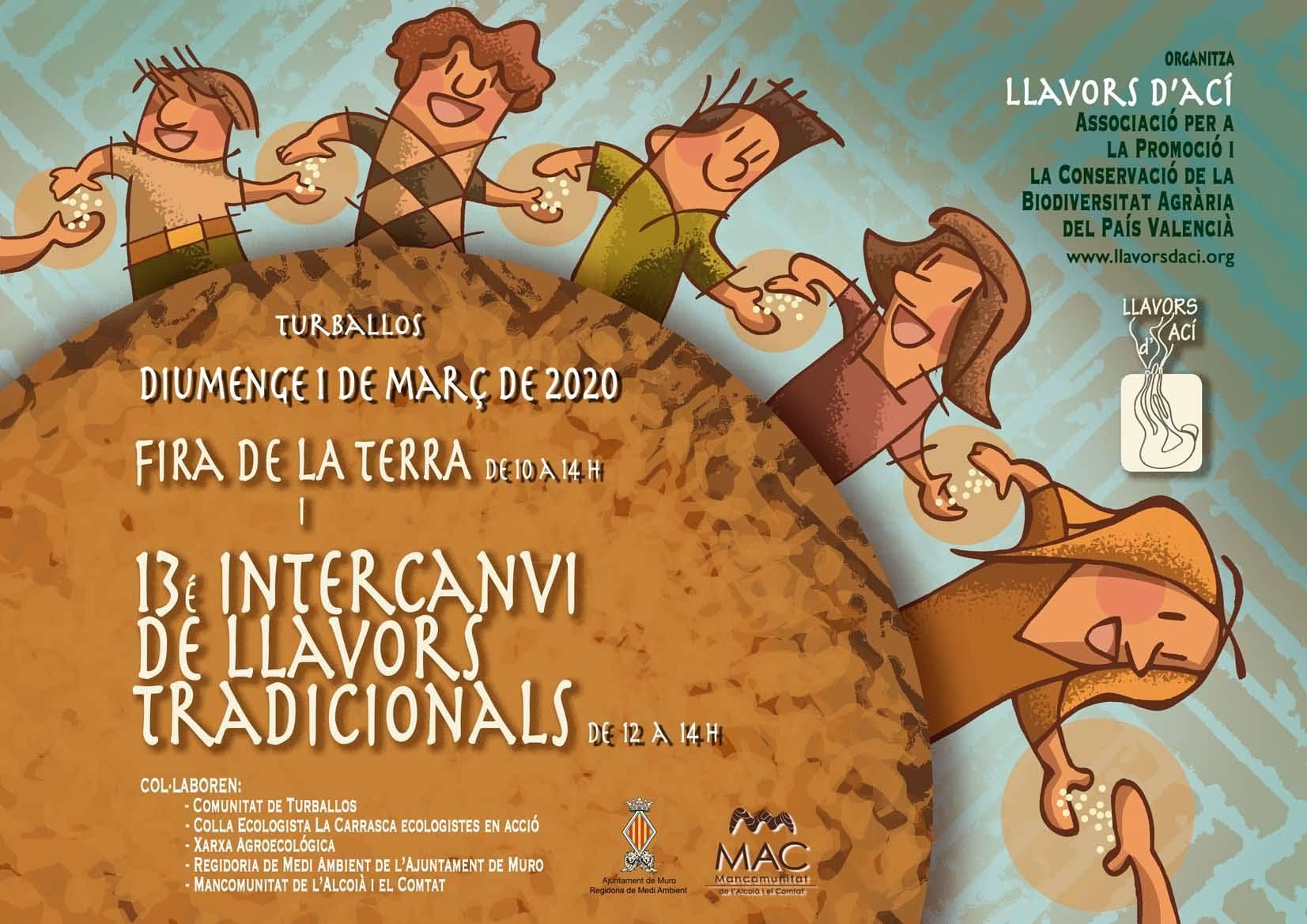 XIII Intercambio de semillas tradicionales en Turballos