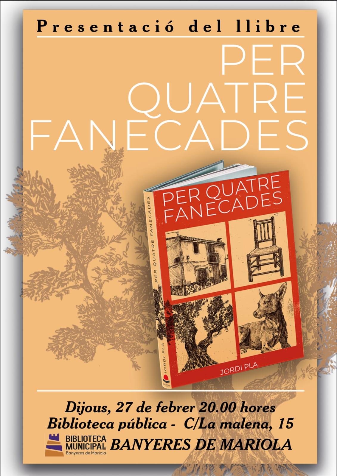 Presentación del libro 'Per quatre fanecades'