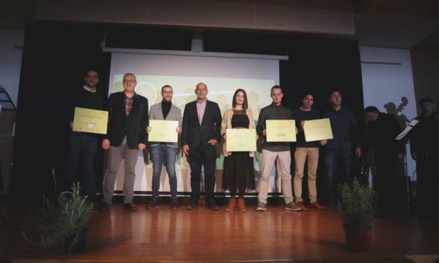 Premis VIII Concurs d'Empreses i Projectes Empresarials Emprenedors