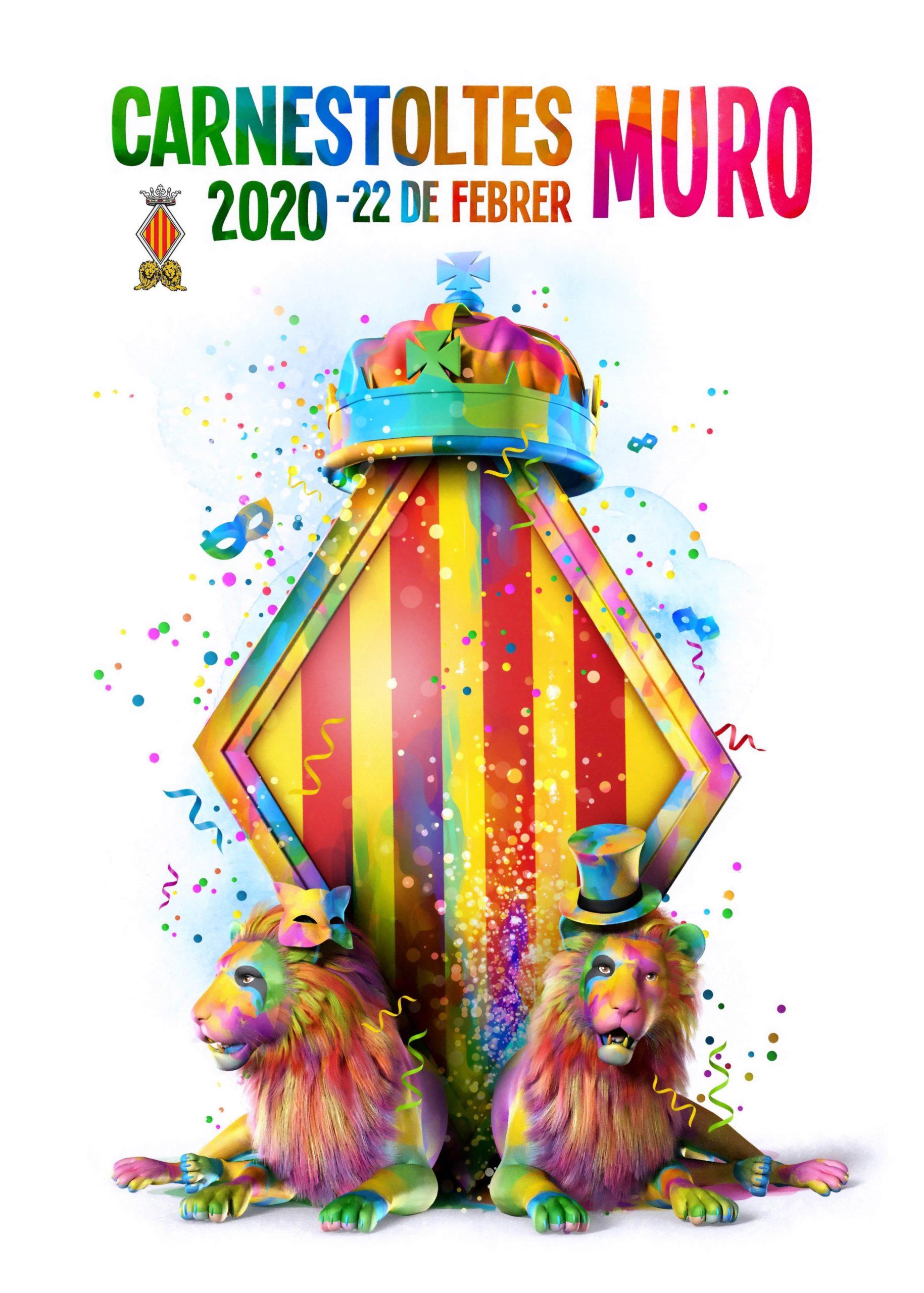 carnaval muro 2020