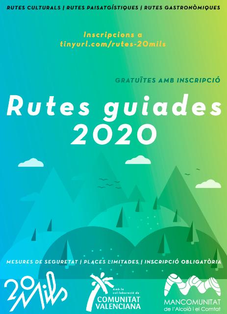 Programa de rutas guiadas de 20Mils