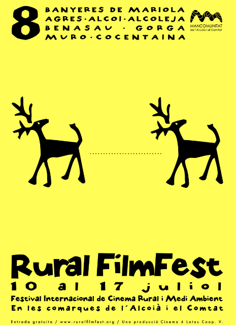 8ª edición del festival internacional de cine Rural FilmFest