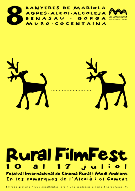cartell 8 rural filmfest festival internacional alcoià comtat