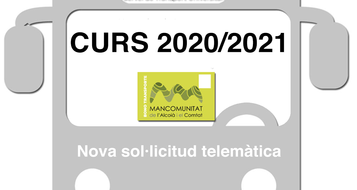 Solicitudes Servicio de Transporte Universitario curso 2020/2021