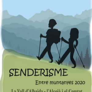senderisme entre muntanyes 2020 mancomunitat alcoià comtat vall d'albaida