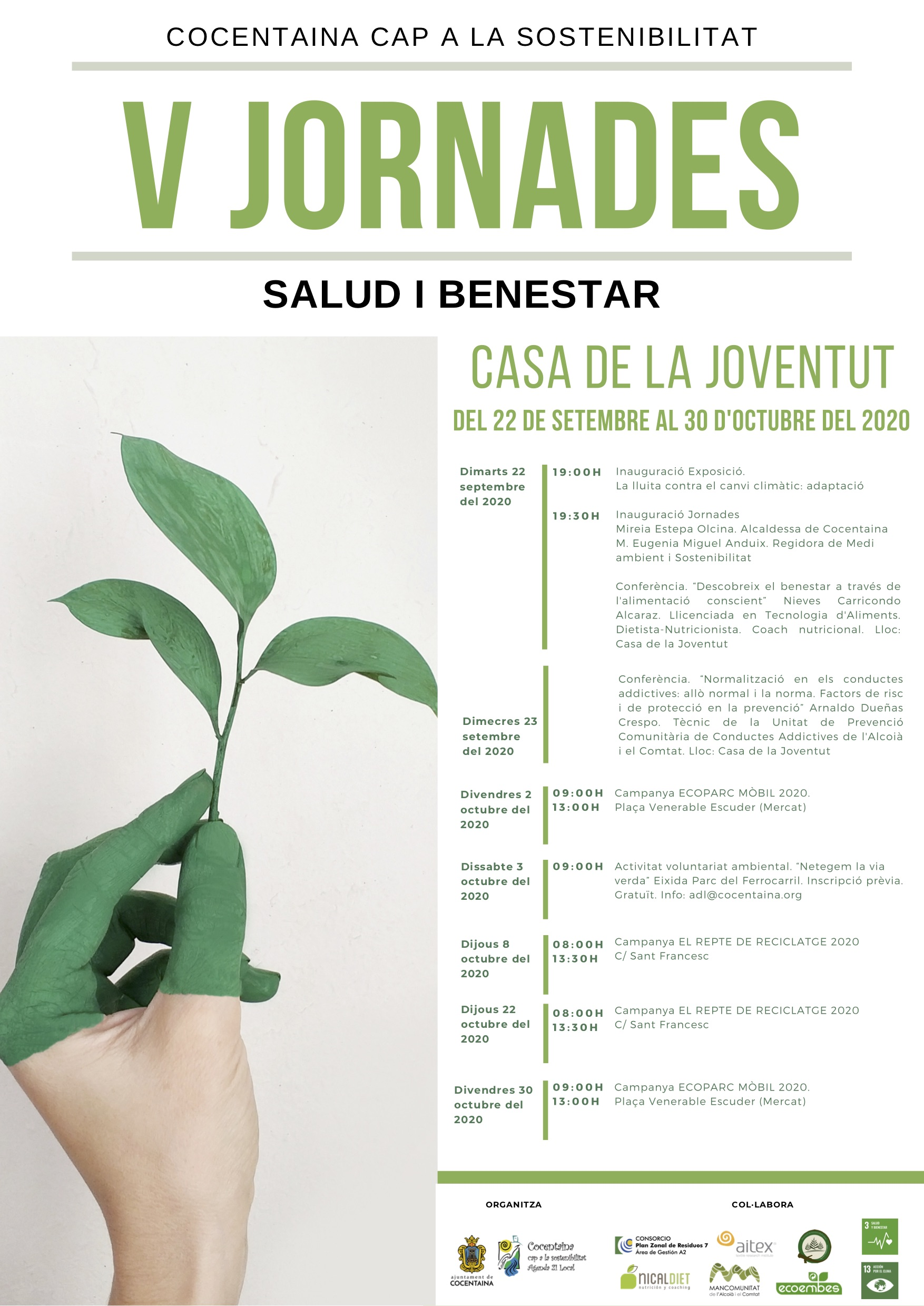 jornades sostenibilitat cocentaina 2020