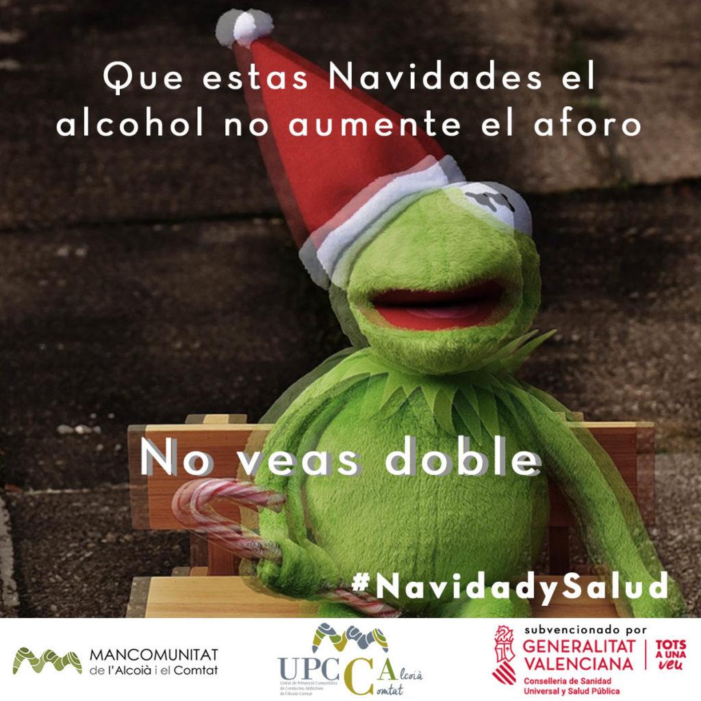campaña alcohol navidades 2020 upcca alcoià comtat