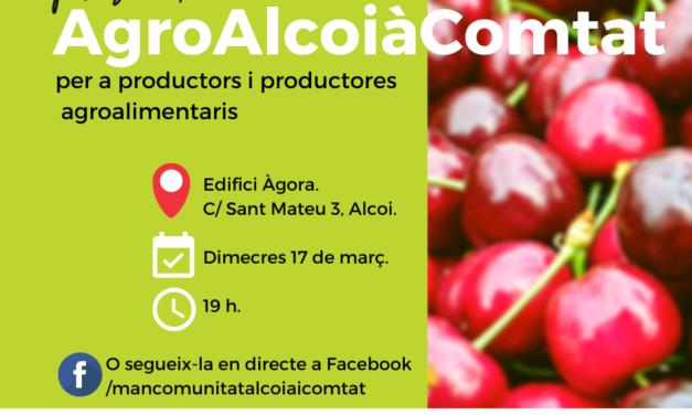 Presentació AgroAlcoiàComtat