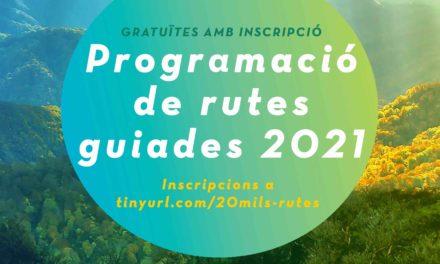 Rutes guiades 20Mils 2021