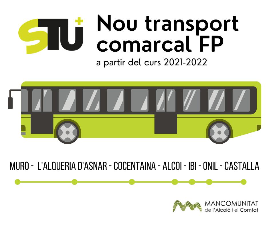 autobus comarcal fp mancomunitat alcoià comtat