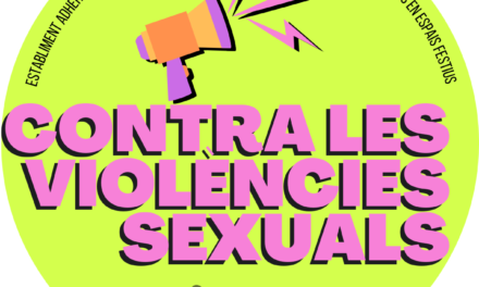 Protocol contra violències sexuals en espais festius