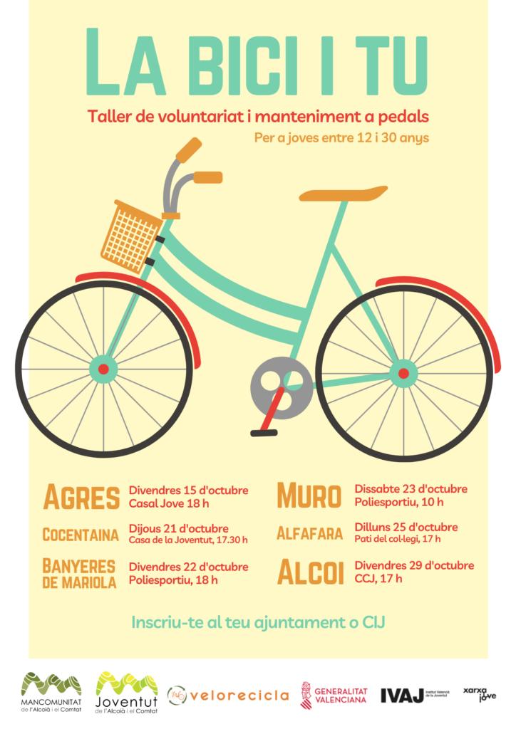 mancomunitat alcoià comtat taller bicicletes